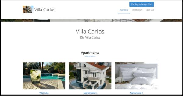 Collega il sito web di smoobu della tua casa vacanze al for Sito web di progettazione della casa
