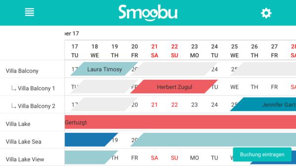 Ganz einfach ober und unterheinheiten definieren und Kalender synchroniseiren mit Software zur Verwaltung deiner Fewo