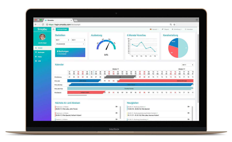Software für Ferienwohnungen für PC und App fürs Smartphone