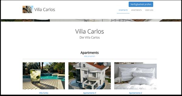 jegloche Formen der Unterkunft verwalten mit Online Software fuer Ferienwohnungen