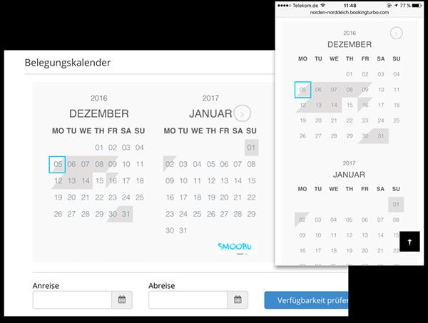 alle kalender in einem portal