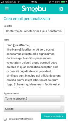 Invio automatico di email di conferma personalizzate