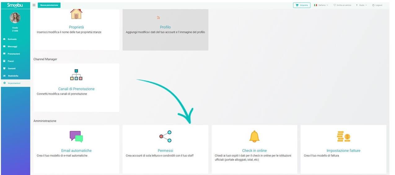 ᐅ Crea account ospiti con Smoobu – Fai accedere il personale delle pulizie o i tuoi collaboratori