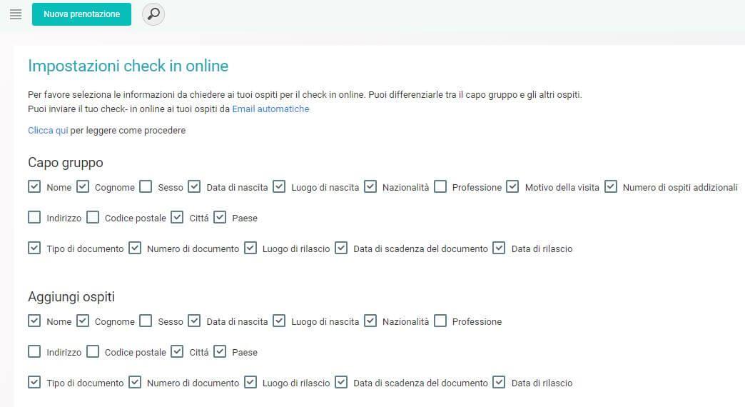 ᐅ Check- in Online per tutti i tuoi ospiti per le tue proprietà