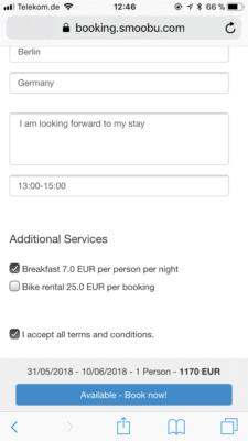 Vous pouvez intégrer notre calendrier d'occupation sur votre propre site Web