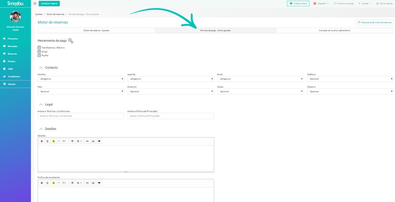 ᐅ Utiliza el motor de reservas Smoobu para tu sitio web de Smoobu o tu sitio web externo