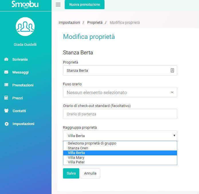 ᐅ Crea le tue proprietà in Smoobu