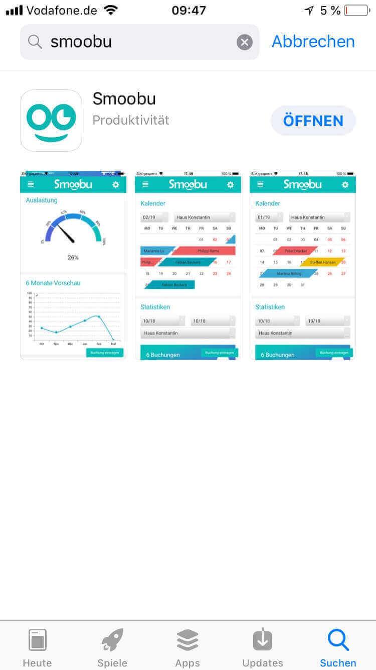 Mit iOS Smoobu App ganz einfach deine Ferienwohnung verwalten