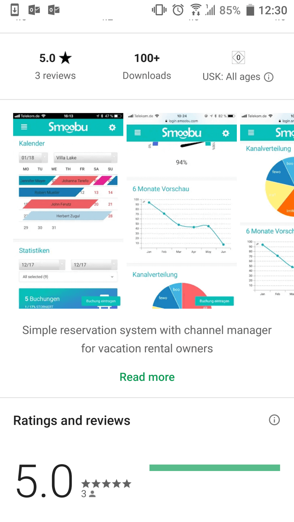 Jetzt Smoobu App fuer Ferienwohnungen laden