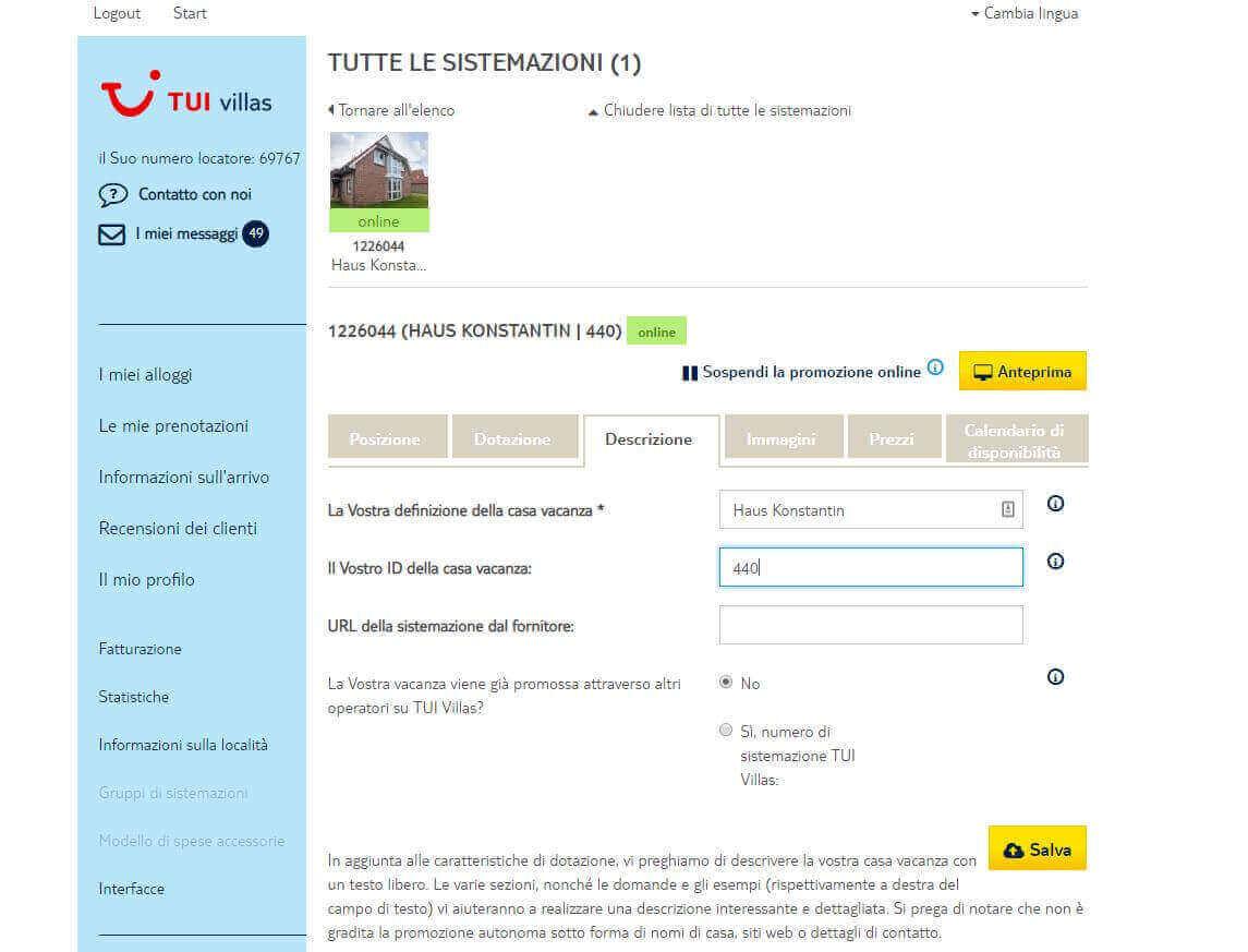 ᐅ Connetti Atraveo / Tuivillas con Smoobu Channel Manager
