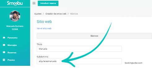 ᐅ GUIA DE USO: como crear el sitio web de tu alojamiento