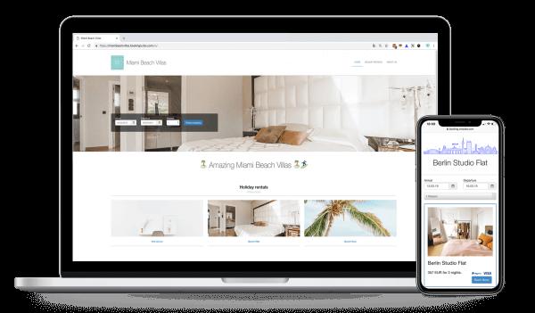 responsive Website smoobu website builder