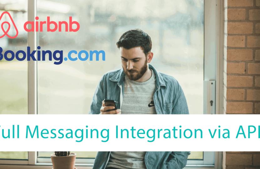 ᐅ Integration der Nachrichten (Messaging) API von Airbnb und Booking.com