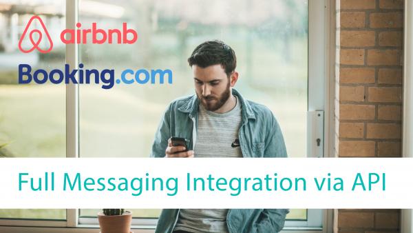 Messaging API, Integration der Nachrichten (Messaging) API von Airbnb und Booking.com