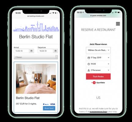 Επικοινωνίας, Guest App-Εφαρμογή εμπειρίας επισκέπτη