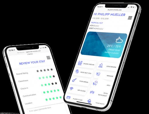 Comunicazione, App Esperienza ospite