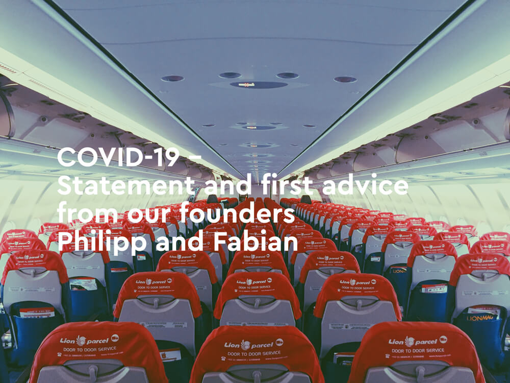 COVID-19 – Smoobu Statement from our founders Philipp and Fabian