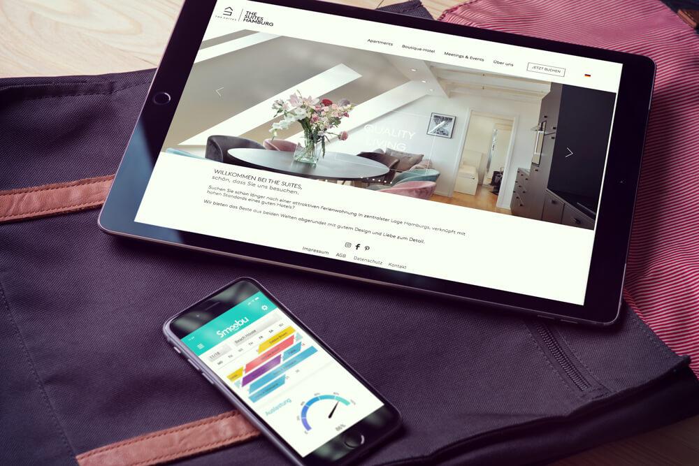 ᐅ The Suites Hamburg und Smoobu Property Management System