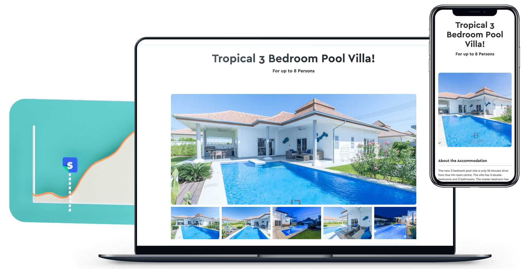 vacation rental homepage, Vacation Rental Homepage