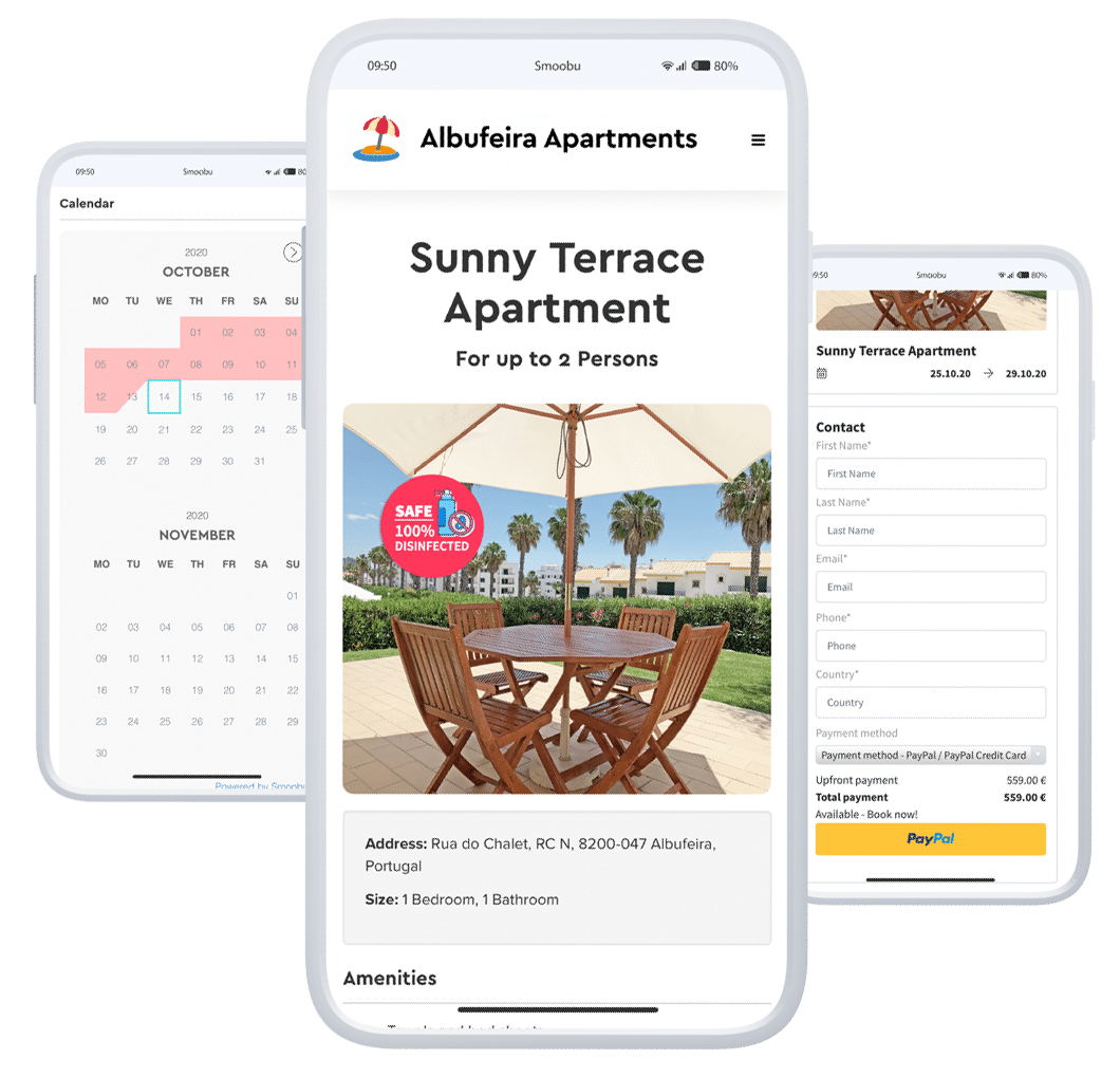 Smoobu ᐅ The Short-Term & Vacation Rental Software