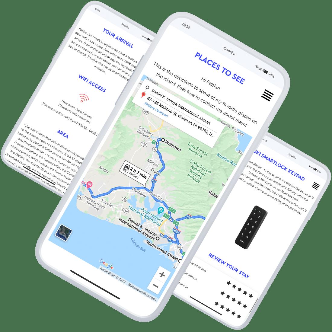 ᐅ Digitale Gästemappe für Ferienwohnungen | Smoobu