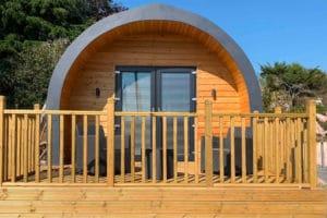 Smoobu Website Builder Daviot Luxury Pods UK
